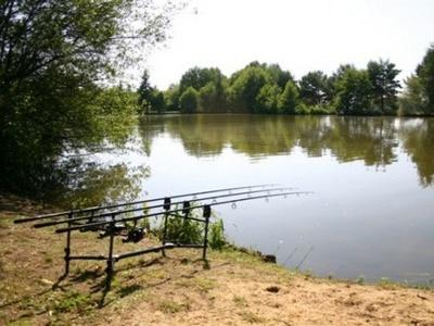huisje om vanuit te vissen