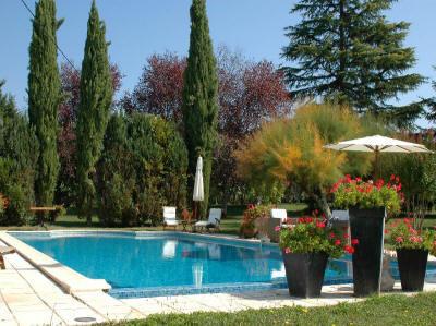Gite Renoir Zwembad
